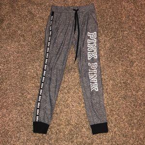 Comfy Gray PINK / VS joggers